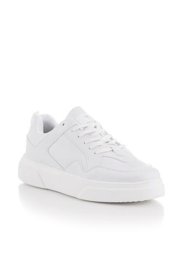 Tonny Black Beyaz Unısex Spor Ayakkabı Tbasl  Beyaz